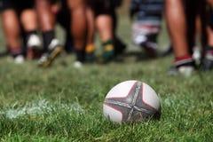Esfera de rugby Fotos de Stock
