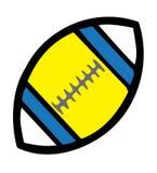 Esfera de rugby Imagem de Stock Royalty Free