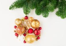 Esfera de suspensão do Natal Fotos de Stock Royalty Free