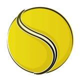 Esfera de tênis 2 ilustração royalty free