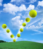Esfera de tênis Fotos de Stock