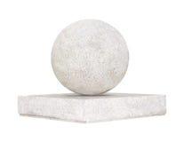 Esfera de una piedra Imagen de archivo libre de regalías
