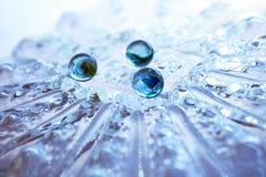 Esfera de vidro Fotografia de Stock