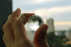 Esfera de vidro Fotos de Stock Royalty Free