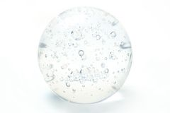 Esfera de vidro imagens de stock