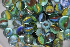 Esfera de vidro colorida Imagem de Stock Royalty Free