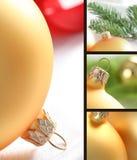 Esfera de vidro do Natal Imagem de Stock