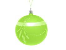 Esfera decorativa do Natal Fotos de Stock Royalty Free