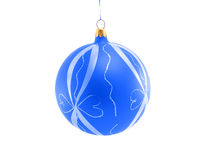 Esfera decorativa do Natal Fotos de Stock