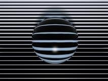 Esfera del Cyber foto de archivo