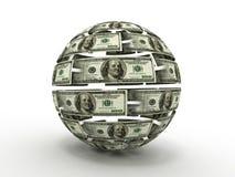 Esfera del dólar stock de ilustración