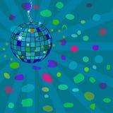 Esfera del disco de la estrella del vector Fotografía de archivo libre de regalías