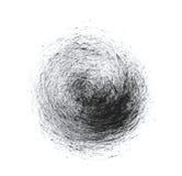 Esfera del movimiento del cepillo Fotos de archivo libres de regalías