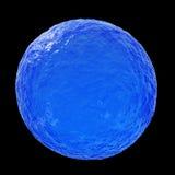 Esfera del océano - ejemplo 3D Fotografía de archivo