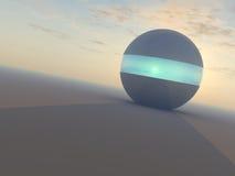 Esfera del rayo de esperanza stock de ilustración
