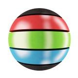 Esfera del RGB Fotos de archivo libres de regalías