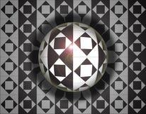 Esfera del Rhombus fotografía de archivo libre de regalías