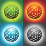 esfera del vector Imagen de archivo