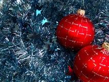 Esfera del vidrio de la Navidad Fotos de archivo libres de regalías