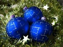 Esfera del vidrio de la Navidad Imagen de archivo