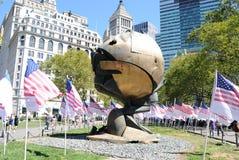 Esfera del World Trade Center Fotos de archivo libres de regalías