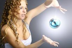 Esfera do ano novo Imagens de Stock