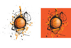 Esfera do basquetebol Fotografia de Stock Royalty Free