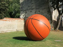 Esfera do basquetebol Fotos de Stock