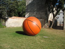 Esfera do basquetebol Foto de Stock