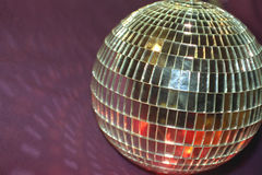 Esfera do disco fotografia de stock royalty free