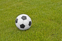Esfera do futebol Fotografia de Stock Royalty Free