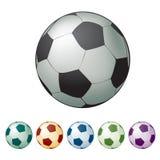 Esfera do futebol, esfera de futebol Fotografia de Stock