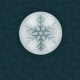 Esfera do gelo Foto de Stock Royalty Free