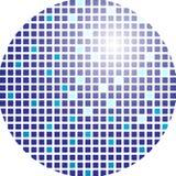 Esfera do Glitter ilustração stock