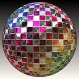Esfera do Glitter ilustração royalty free