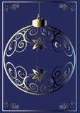 Esfera do Natal. Foto de Stock Royalty Free