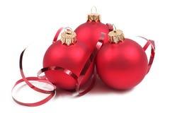 Esfera do Natal Fotos de Stock Royalty Free