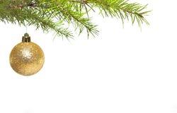 Esfera do Natal Foto de Stock Royalty Free