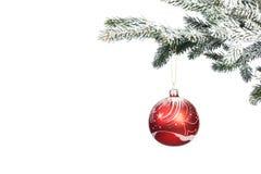 Esfera do Natal Imagem de Stock Royalty Free