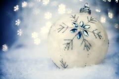 Esfera do Natal Fotografia de Stock Royalty Free