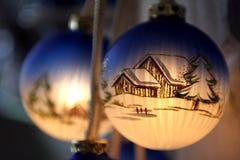 Esfera do Natal Fotografia de Stock