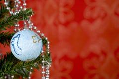 Esfera do Natal Imagens de Stock Royalty Free