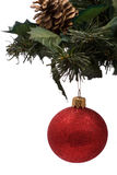 Esfera do Natal Fotos de Stock