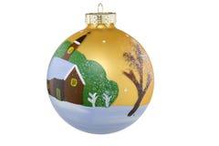Esfera do Natal Imagens de Stock