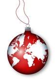 Esfera do Natal ilustração royalty free