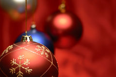 Esfera do Natal, close up. Imagem de Stock Royalty Free