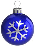 Esfera do Natal. Decoração do ano novo (alugueres) Imagens de Stock