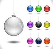 Esfera do Natal do vetor Imagens de Stock