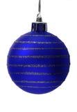 Esfera do Natal, trajeto de grampeamento Fotos de Stock Royalty Free