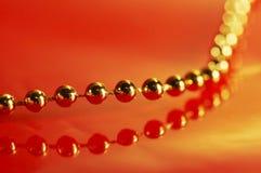 Esfera do ouro Imagem de Stock Royalty Free